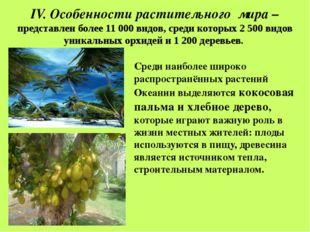 V. Особенности животного мира Новой Гвинеи - нет крупных млекопитающих. Отсу