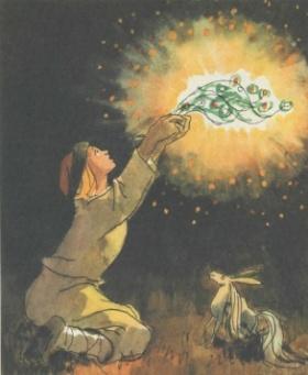 Конёк-Горбунок. П.П.Ершов. Рисунки А.Кокорина.1989 г.