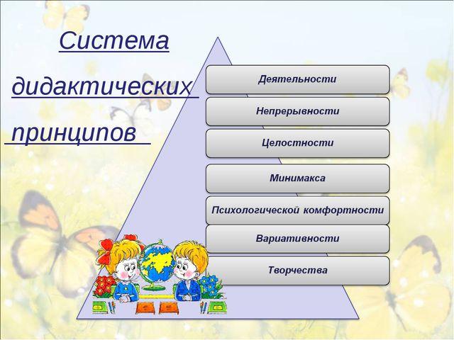 Cистема дидактических принципов
