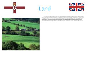 Land The total area of Northern Ireland is 14,148 sq km (5463 sq mi). Norther