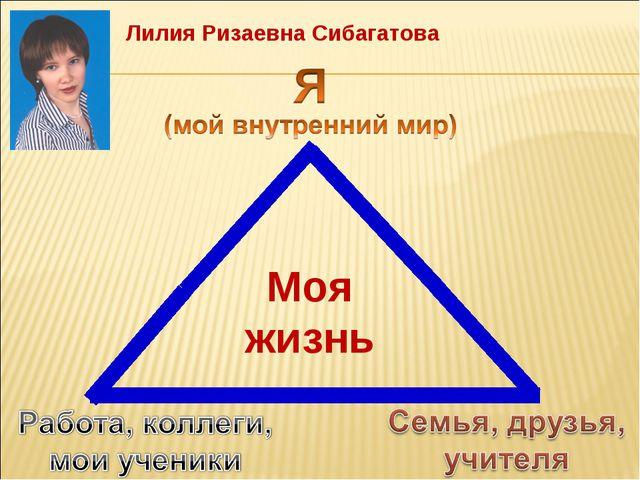 Лилия Ризаевна Сибагатова Моя жизнь