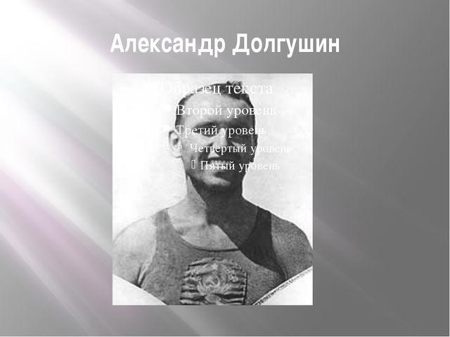 Александр Долгушин