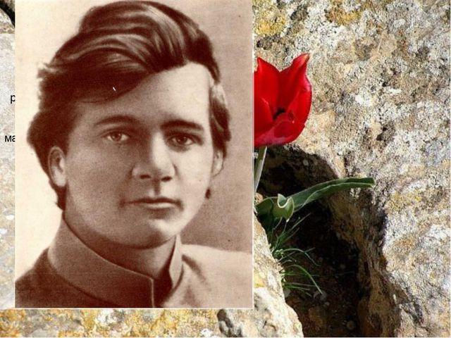 Детство… Андрей Платонович Климентов родился 1 сентября 1899 года вВоронеже....