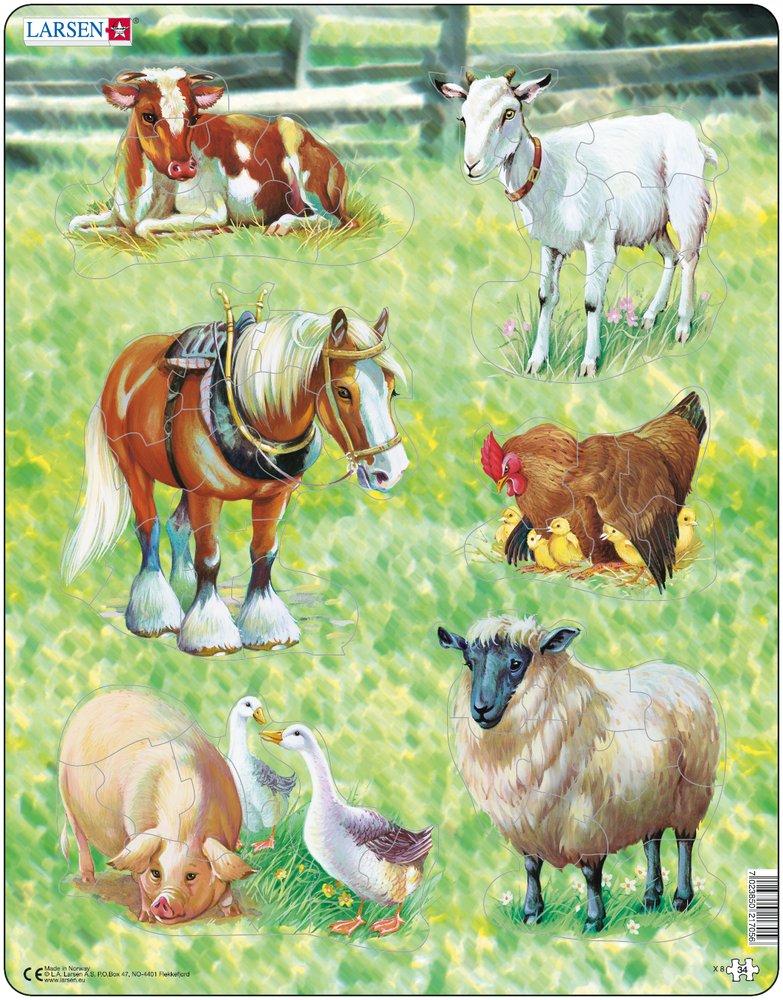 Классический пазл Larsen Домашние животные характеристики, обзор, цена, купить в интернет-магазине Hotline.ua