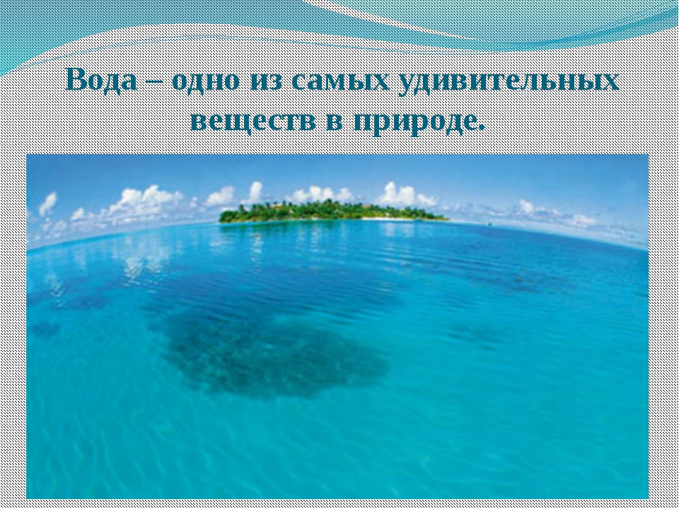 Вода – одно из самых удивительных веществ в природе.