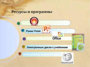 Электронные энциклопедии Microsoft Office Power Point Nero Электронные диски