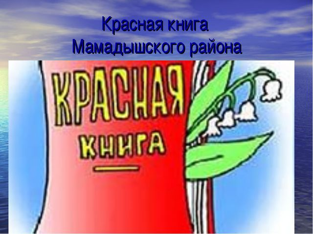 Красная книга Мамадышского района