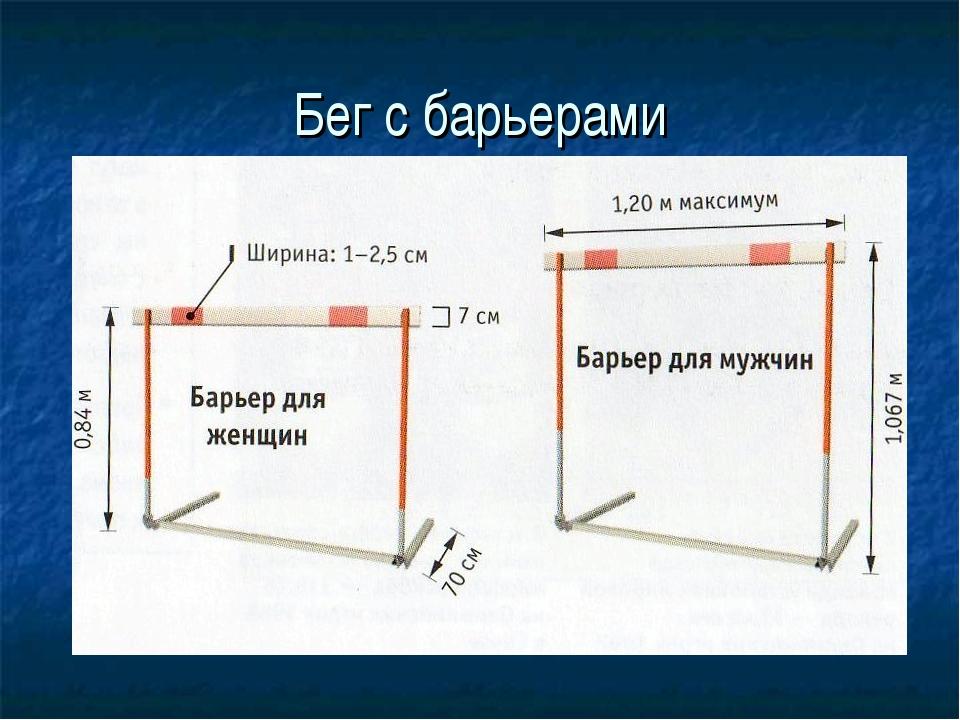 Бег с барьерами
