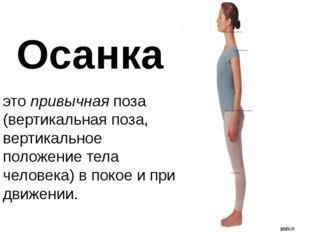 этопривычнаяпоза (вертикальная поза, вертикальное положение тела человека)