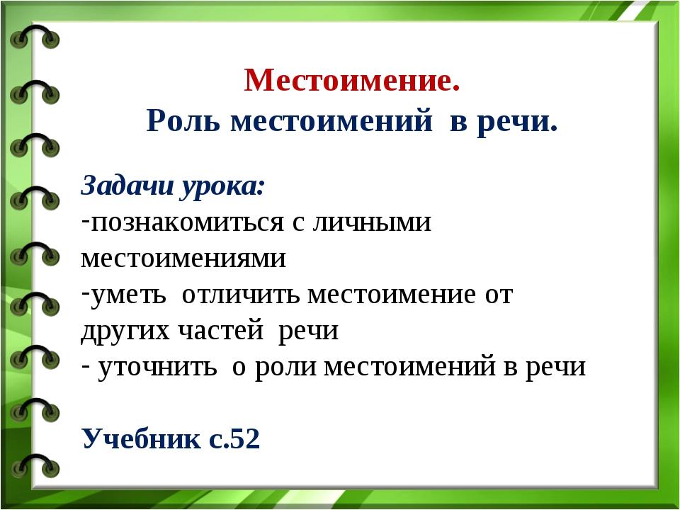 Знакомство Местоимение Презентация