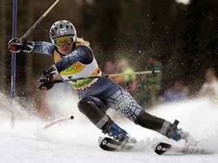 Техника катания на лыжах