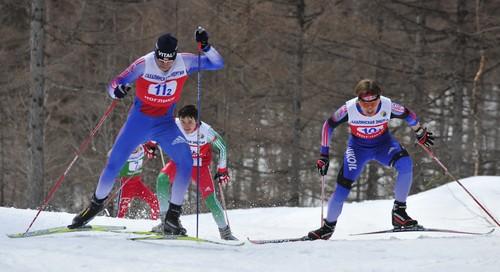 Преодоление подъемов на лыжах