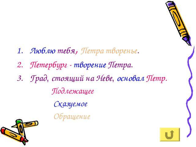 Люблю тебя, Петра творенье. Петербург - творение Петра. Град, стоящий на Неве...