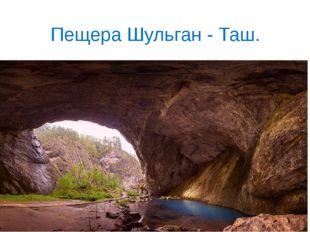 Пещера Шульган - Таш.