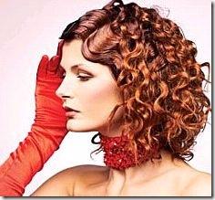 химической завивке волос