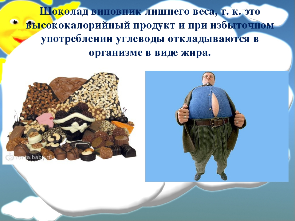 Шоколад вред и опасность  Как стать счастливым человеком