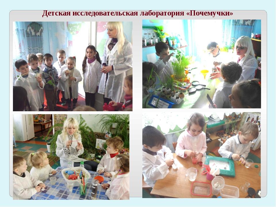 Детская исследовательская лаборатория «Почемучки»