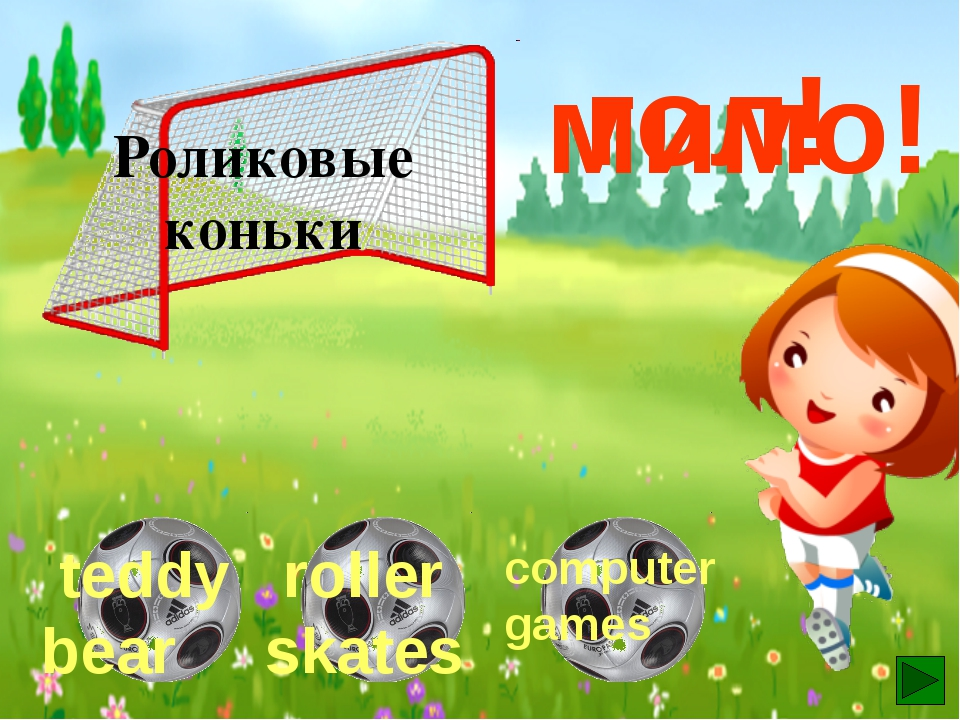 Компьютерные игры гол! мимо! мимо! teddy bear book computer games