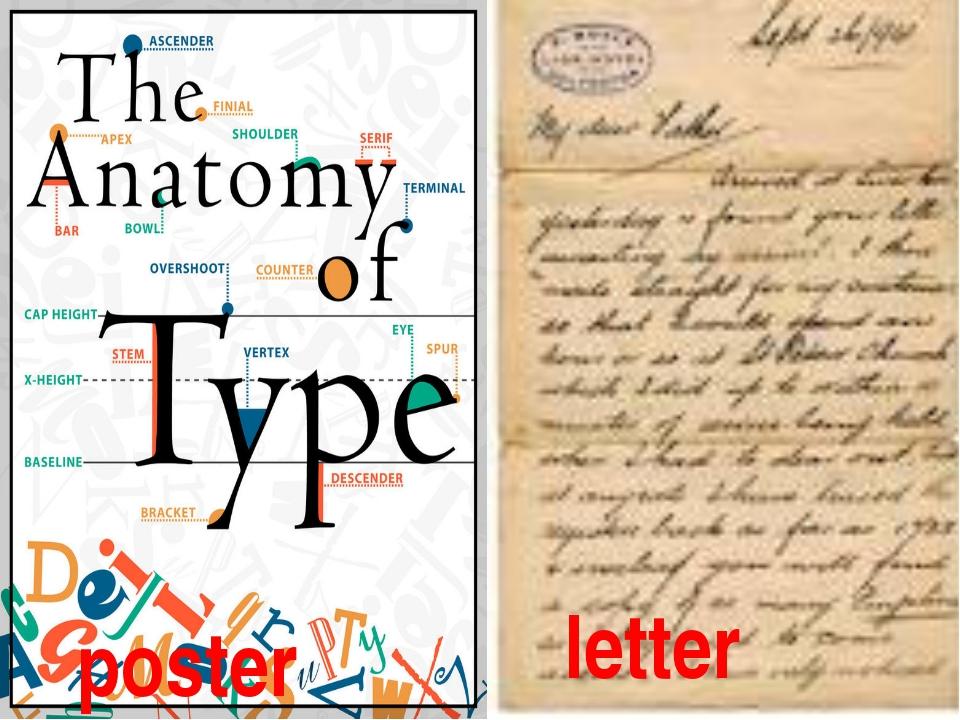 poster letter