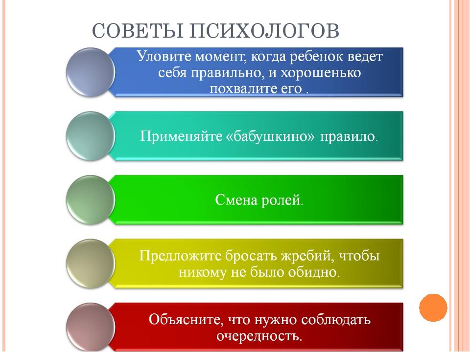 Советы психологов знакомство