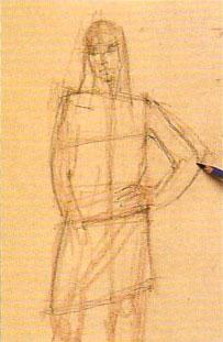Пошаговый урок карандашного рисунка - шаг 4