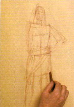 Пошаговый урок карандашного рисунка - шаг 3