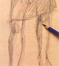 Пошаговый урок карандашного рисунка - шаг 7