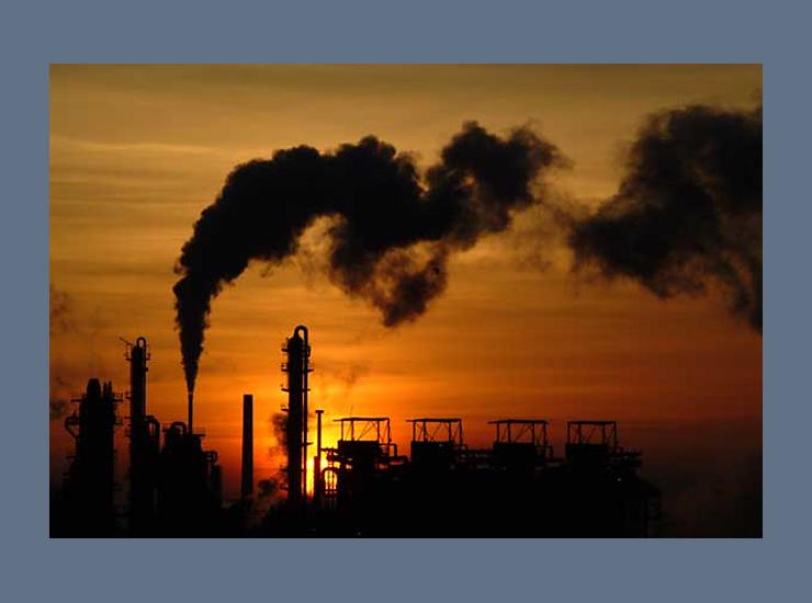 Особенно сильно от загрязнения атмосферы страдают крупные промышленные