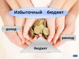 бюджет доход расход Избыточный бюджет