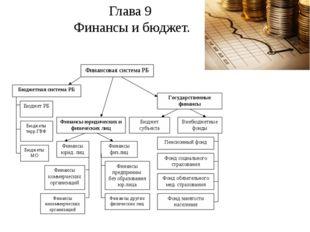 Глава 9 Финансы и бюджет.