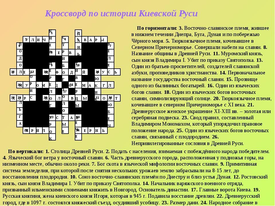 8 10 1 9 4 5 20 14 2 22 13 17 6 16 7 3 11 15 21 19 18 12 23 24 26 25 Кроссвор...