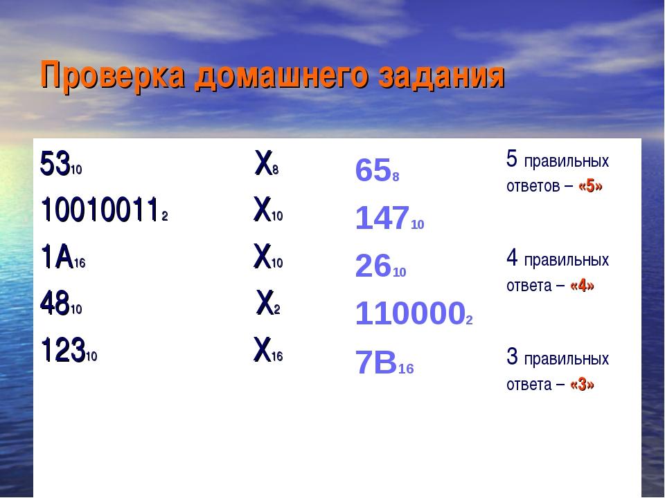 Проверка домашнего задания 658 14710 2610 1100002 7В16