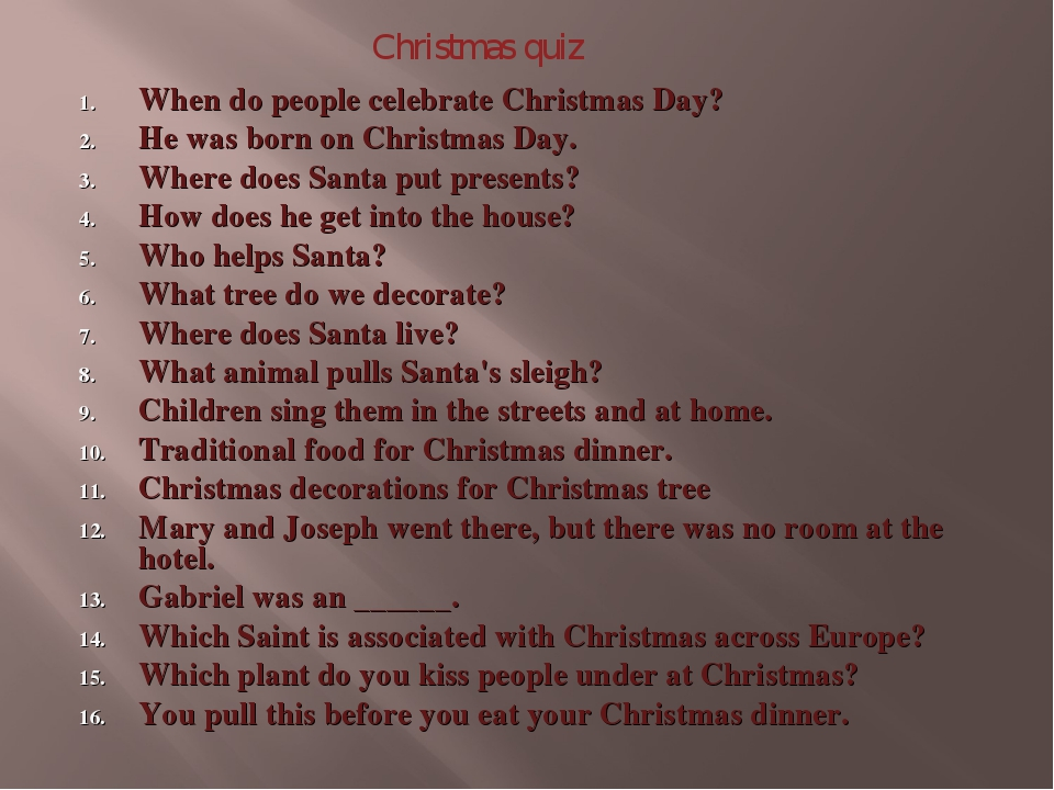 When do people celebrate Christmas Day? He was born on Christmas Day. Where d...