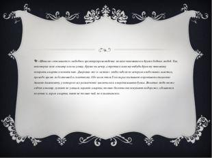 В «Шинели» описывается свободное времяпрепровождение мелких чиновников и дру
