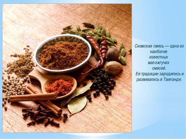 Сиамская смесь — одна из наиболее известных маложгучих смесей. Ее традиции за...