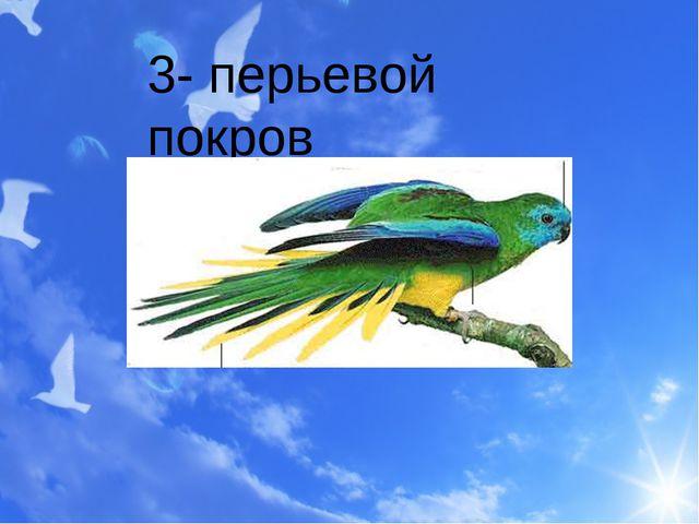 3- перьевой покров