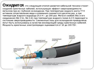 Ожидается, что следующим этапом развития кабельной техники станет создание кр