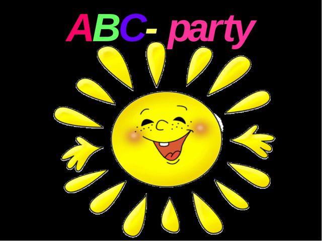 ABC- party