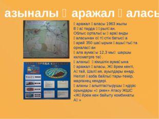 Қаражал қаласы 1963 жылы 8 қаңтарда құрылған. Облыс орталығы Қарағанды қаласы