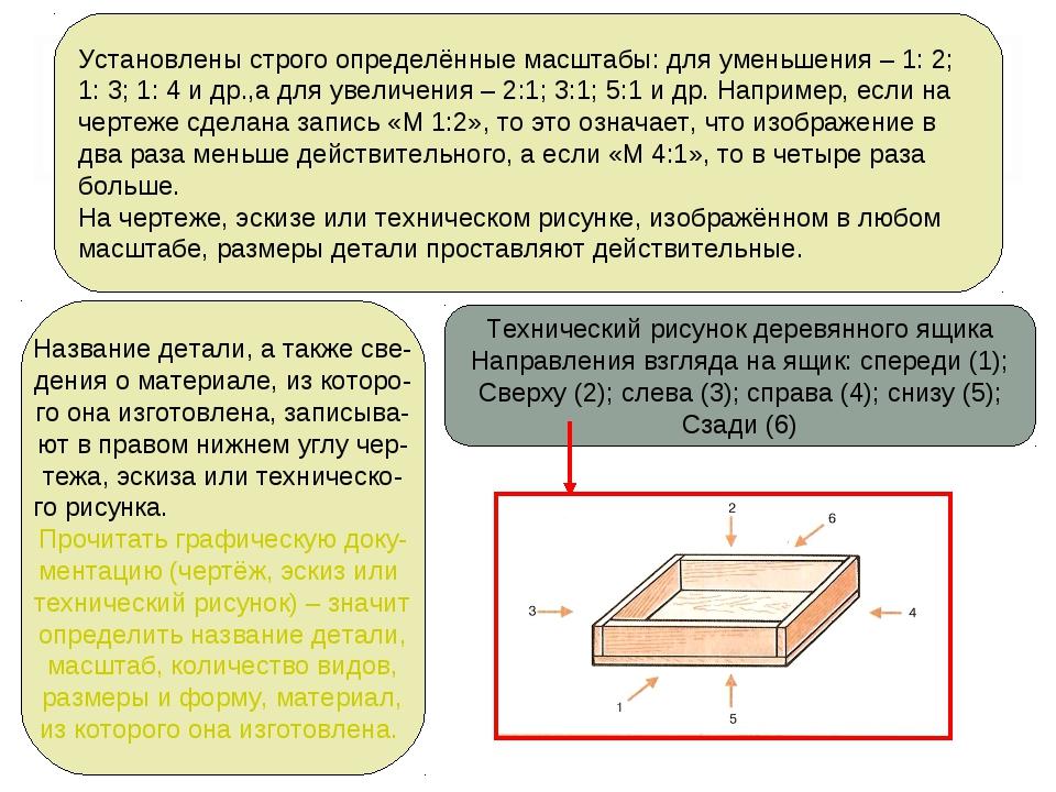 Установлены строго определённые масштабы: для уменьшения – 1: 2; 1: 3; 1: 4 и...