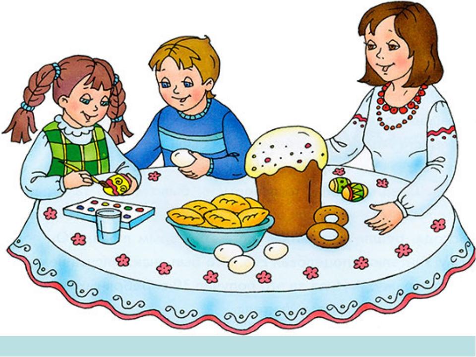 Картинки празднования пасхи для детей
