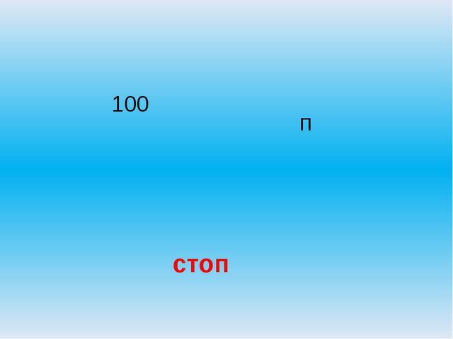 100 п стоп