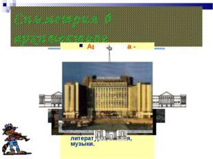 Симметрия в архитектуре Архитектура - удивительная область человеческой деяте