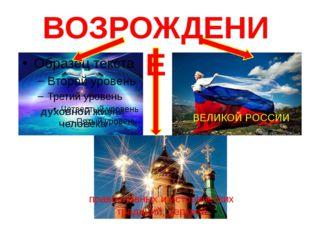 духовной жизни человека православных и исторических традиций, церквей ВЕЛИКОЙ