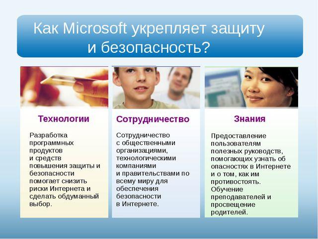 Как Microsoft укрепляет защиту и безопасность? Разработка программных продукт...