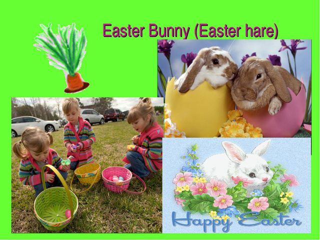 Easter Bunny (Easter hare)