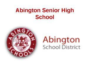 Abington Senior High School
