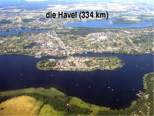 die Havel (334 km)