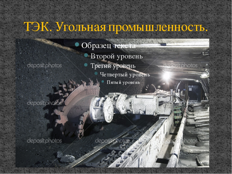 ТЭК. Угольная промышленность.