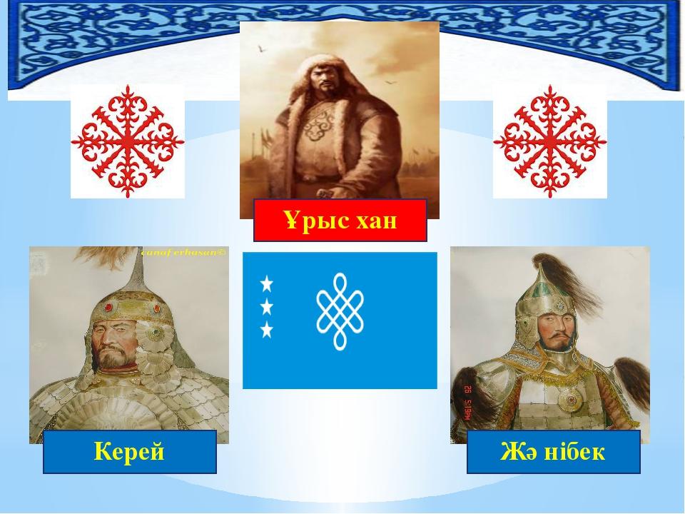 Ұрыс хан Жәнібек Керей